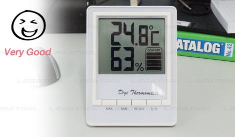 Comfort Indicator ช่วยบอกระดับความสบายตัวของอุณหภูมิ และความชื้นภายในห้อง