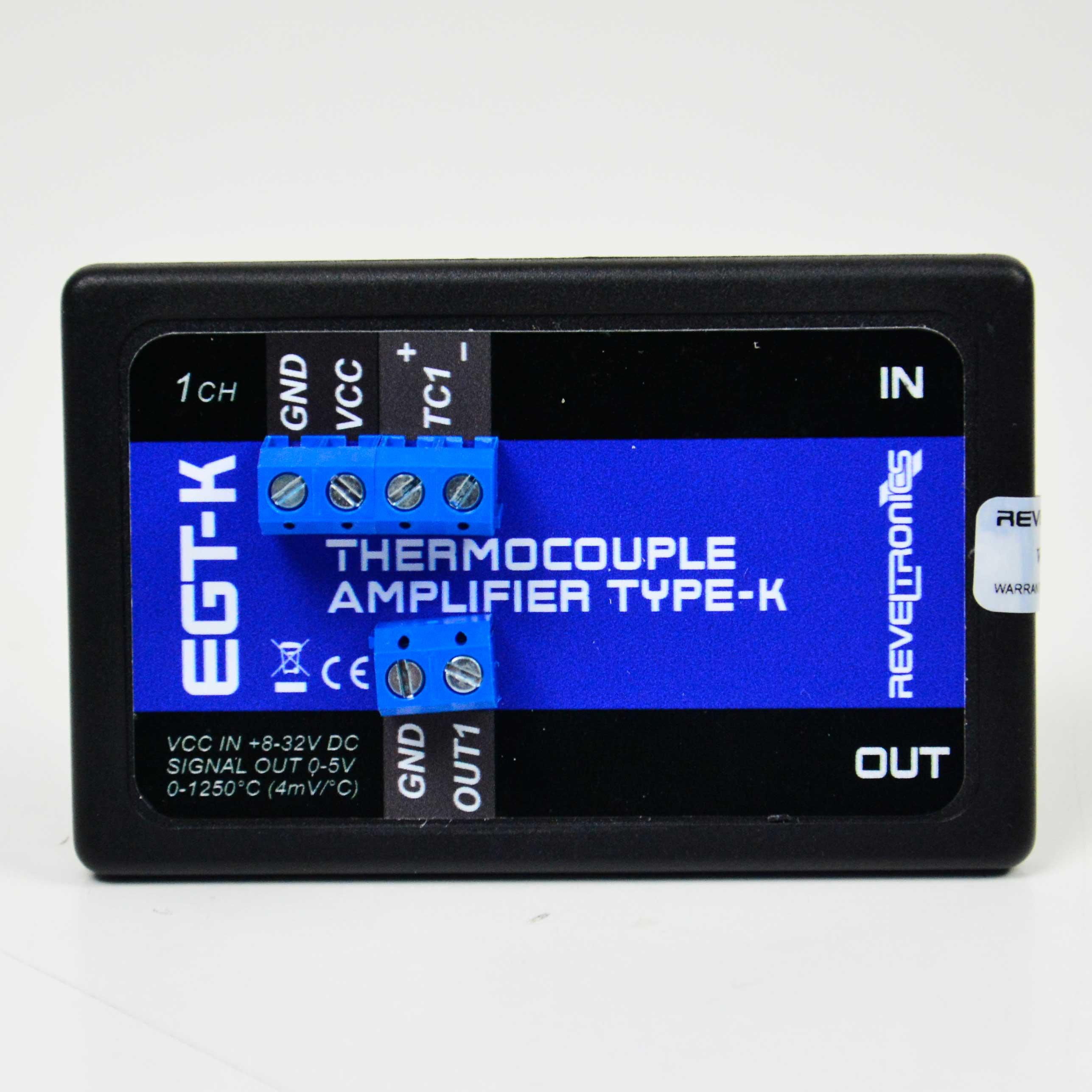 REVELTRONICS EGT-K 1-CH ตัวแปลงสัญญาณ Thermocouples (Type K) | Output 0-5V