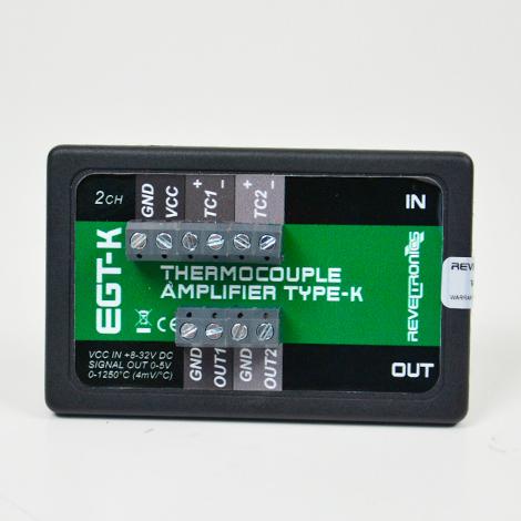 REVELTRONICS EGT-K 2-CH ตัวแปลงสัญญาณ Thermocouples (Type K) | Output 0-5V