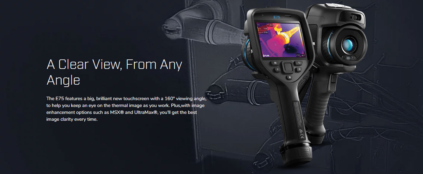 FLIR E75 กล้องถ่ายภาพความร้อน รุ่น Advanced (320×240 Pixels)