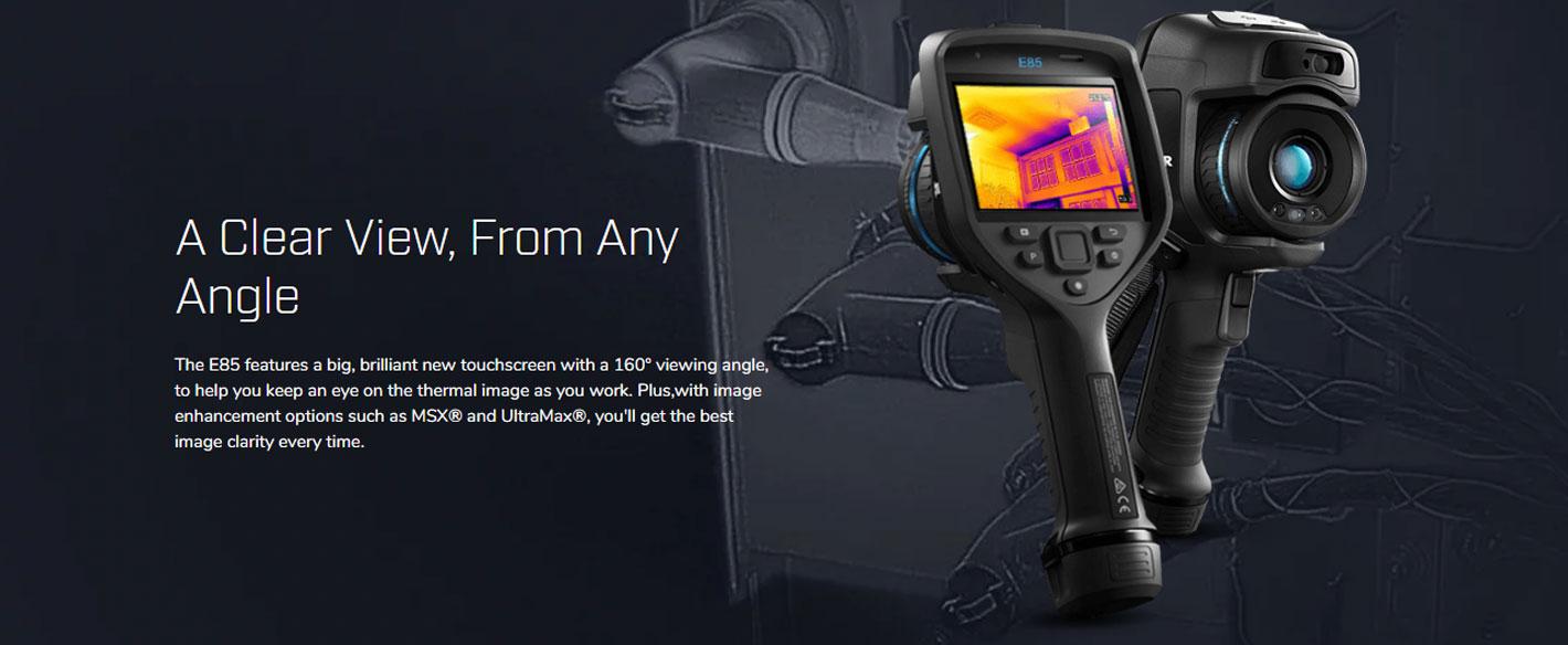 FLIR E85 กล้องถ่ายภาพความร้อน รุ่น Advanced (384×288 Pixels)
