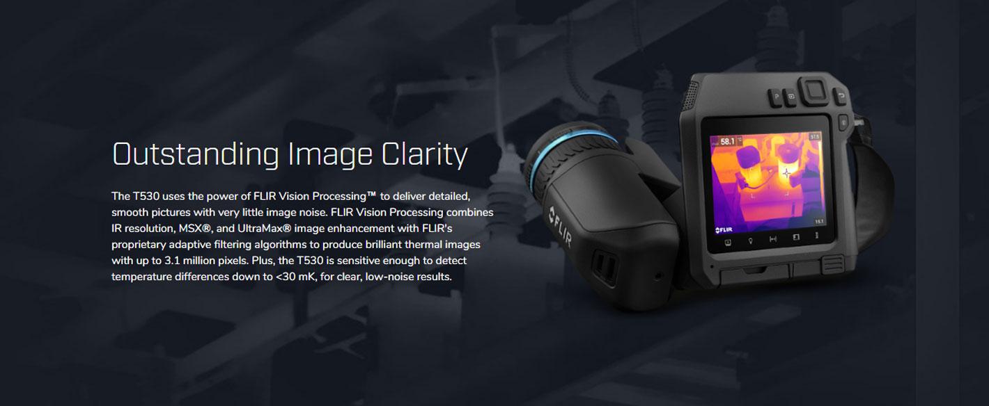 FLIR T530 กล้องถ่ายภาพความร้อน รุ่น Professional (320x240 Pixels)