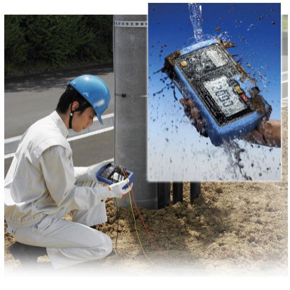 Dustproof and waterproof enclosure for robust performance in the field