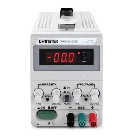 GW Instek GPS-3030D เครื่องจ่ายไฟ