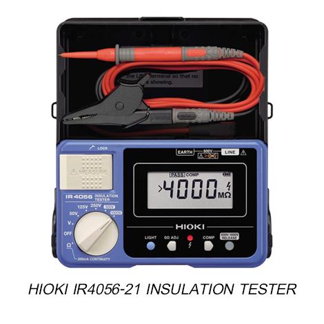 Hioki-IR4056-21 เครื่องทดสอบความเป็นฉนวน