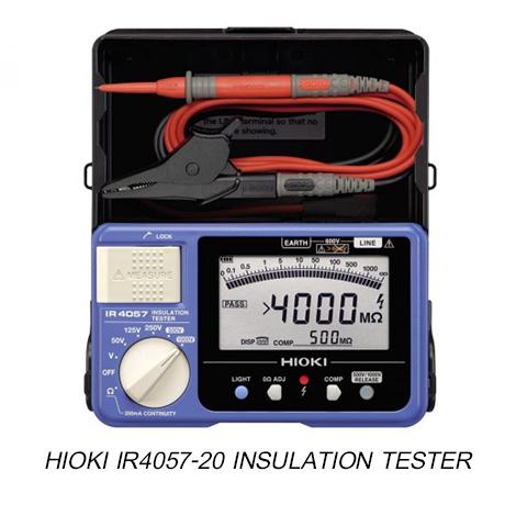 Hioki IR4057-20 เครื่องทดสอบความเป็นฉนวนแบบดิจิตัล