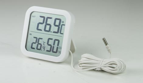 LP3010 เครื่องวัดอุณหภูมิและความชื้น (Indoor & Outdoor)
