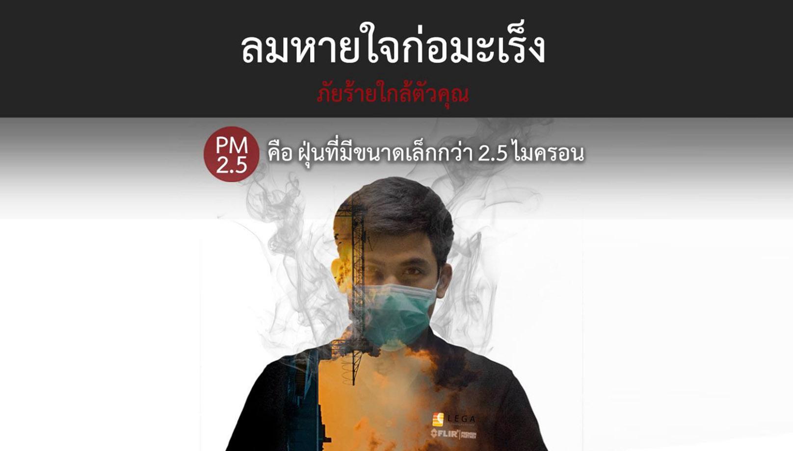 เครื่องวัดอนุภาคอากาศ PM2.5