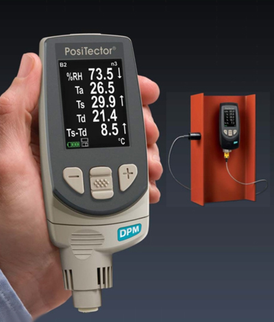 Positector DPM Environmental Conditions Dew Point Meter