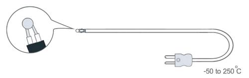 โพรบวัดอุณหภูมิทั่วไป Rixen GK-03