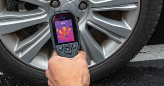 FLIR TG275 กล้องถ่ายภาพความร้อน สำหรับงานอุตสาหกรรมรถยนต์ (320×240 pixels)