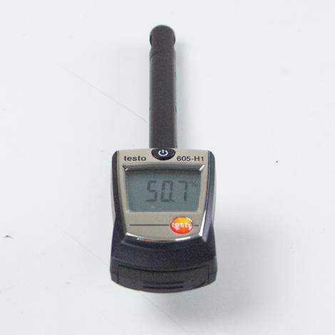 Testo 605-H1 เครื่องวัดอุณหภูมิความชื้นสัมพัทธ์