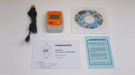 Tenmars TM-306U เครื่องบันทึกอุณหภูมิ | IP65