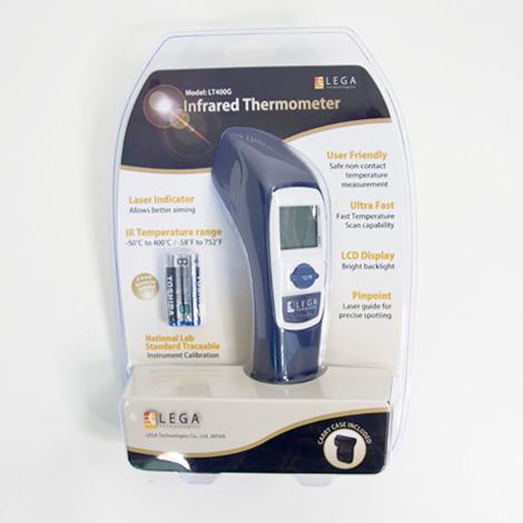 อุปกรณ์มาตรฐาน LT-400G เครื่องวัดอุณหภูมิอินฟราเรด | -50 to 400℃
