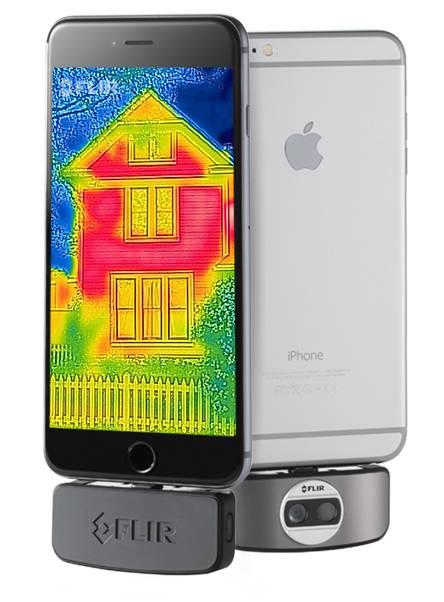 กล้องถ่ายภาพความร้อน FLIR-One-iOS เปลี่ยน iPhone ของคุณให้เป็นกล้องถ่ายภาพความร้อน