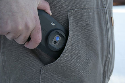 FLIR C5 กล้องถ่ายภาพความร้อนแบบพกพา (160 x 120 pixels) | พร้อม Cloud & Wi-Fi