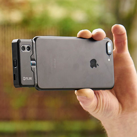 FLIR-ONE-PRO-iOS กล้องถ่ายภาพความร้อนสำหรับ iOS | Max.400°C