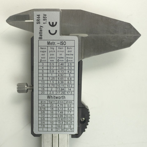 LDC-15-4B คาลิเปอร์แบบดิจิตอล 150mm (Sliver)