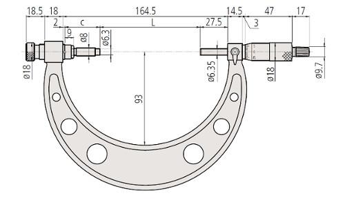 M-340 Dimension 0 - 400