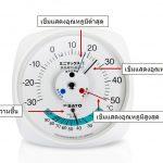 เครื่องวัดค่าอุณหภูมิแบบอนาล็อค | Analog Temperature