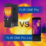 ระหว่าง FLIR ONE Pro และ FLIR ONE Pro Lite กล้องถ่ายภาพความร้อนทั้งสองแตกต่างกันยังไง?