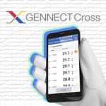 GENNECT Cross และการบันทึกค่าการวัด