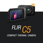 FLIR C5 กล้องถ่ายภาพความร้อนแบบพกพา พร้อมบริการ Cloud & Wi-Fi Connection