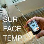 เครื่องวัดอุณหภูมิพื้นผิว วัดอุณหภูมิผนังห้องมีแบบไหนบ้าง | Surface Temperature