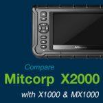 Mitcorp X2000 กล้องส่องภายในท่อระบบ Digital system กับ X1000 และ MX1000