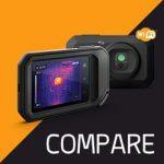 FLIR C-Series กล้องถ่ายภาพความร้อนแบบพกพา | Compare